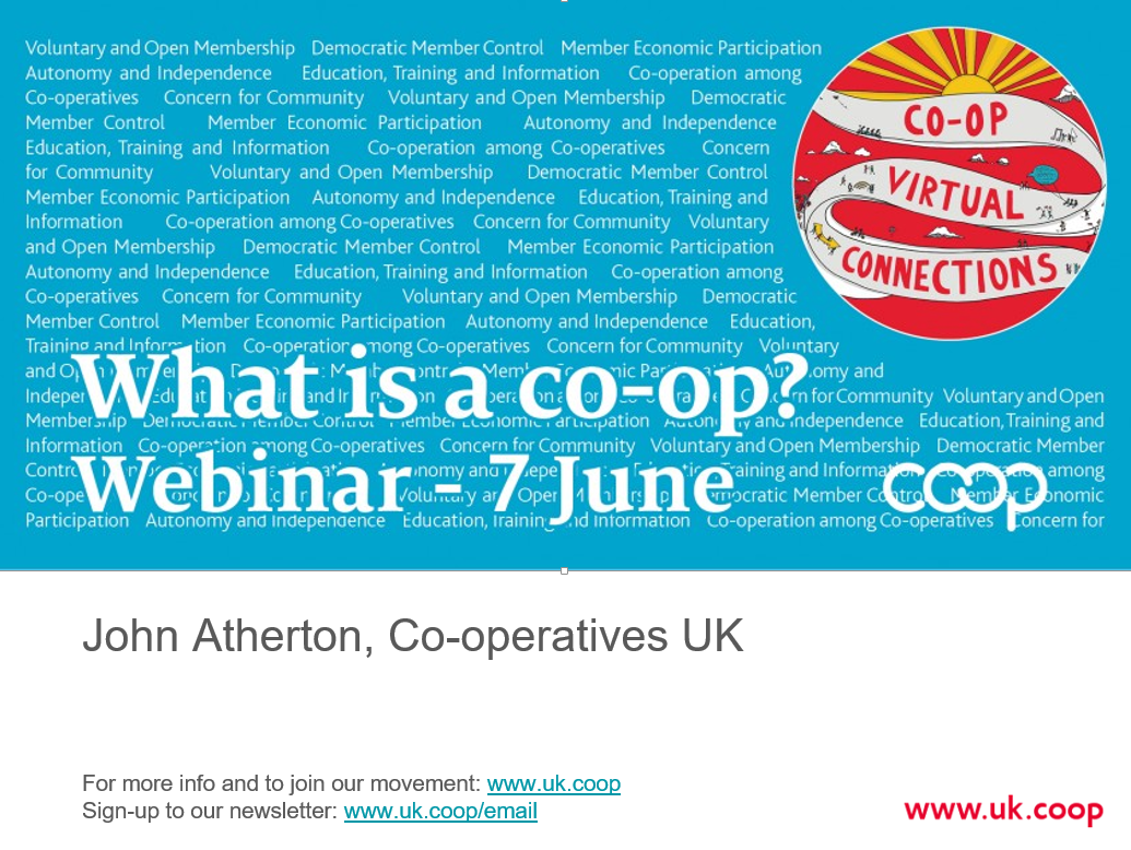 What is a co-op slides