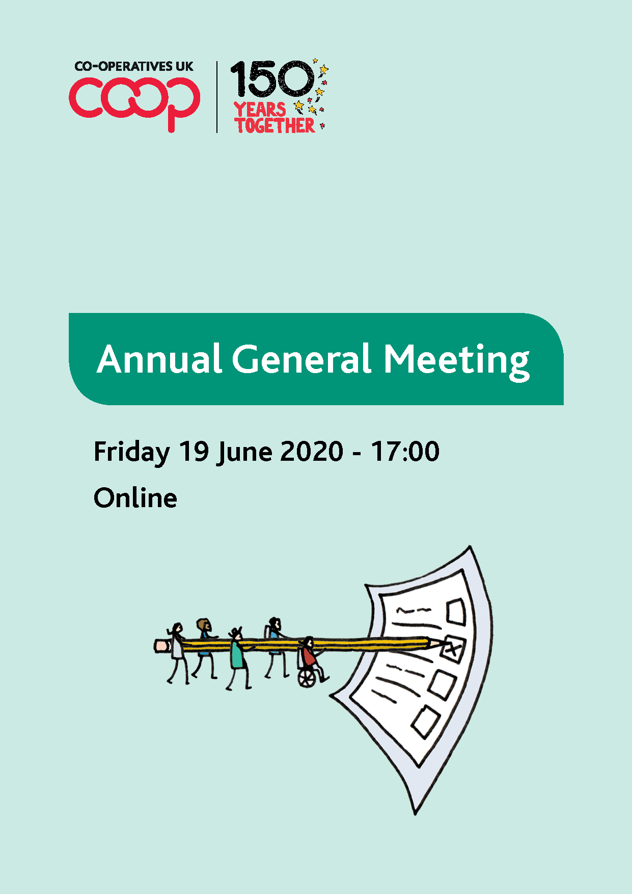Cover of 2020 AGM notice