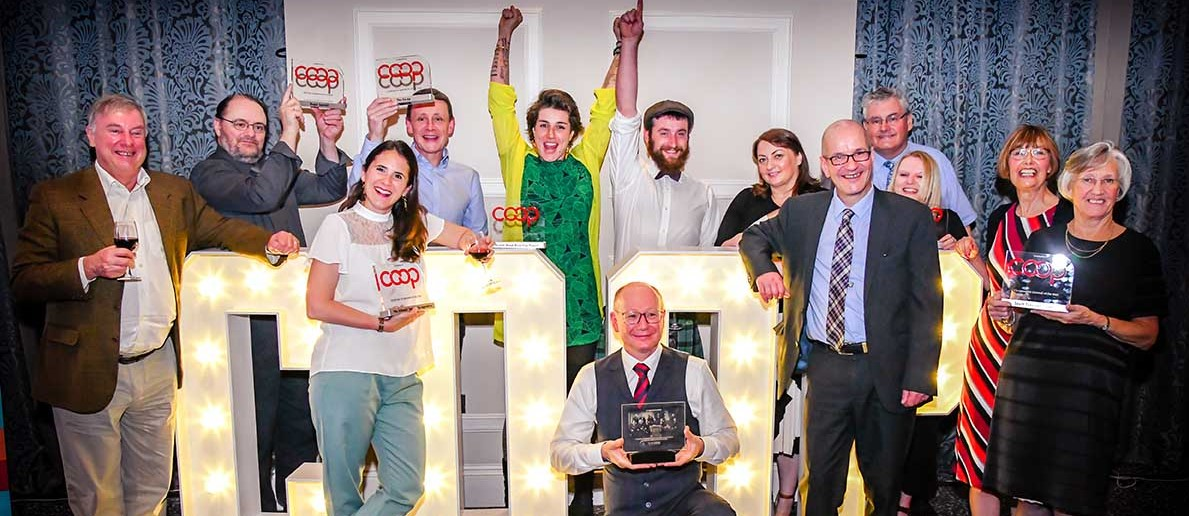 Winners of the co-op of the year awards 2019
