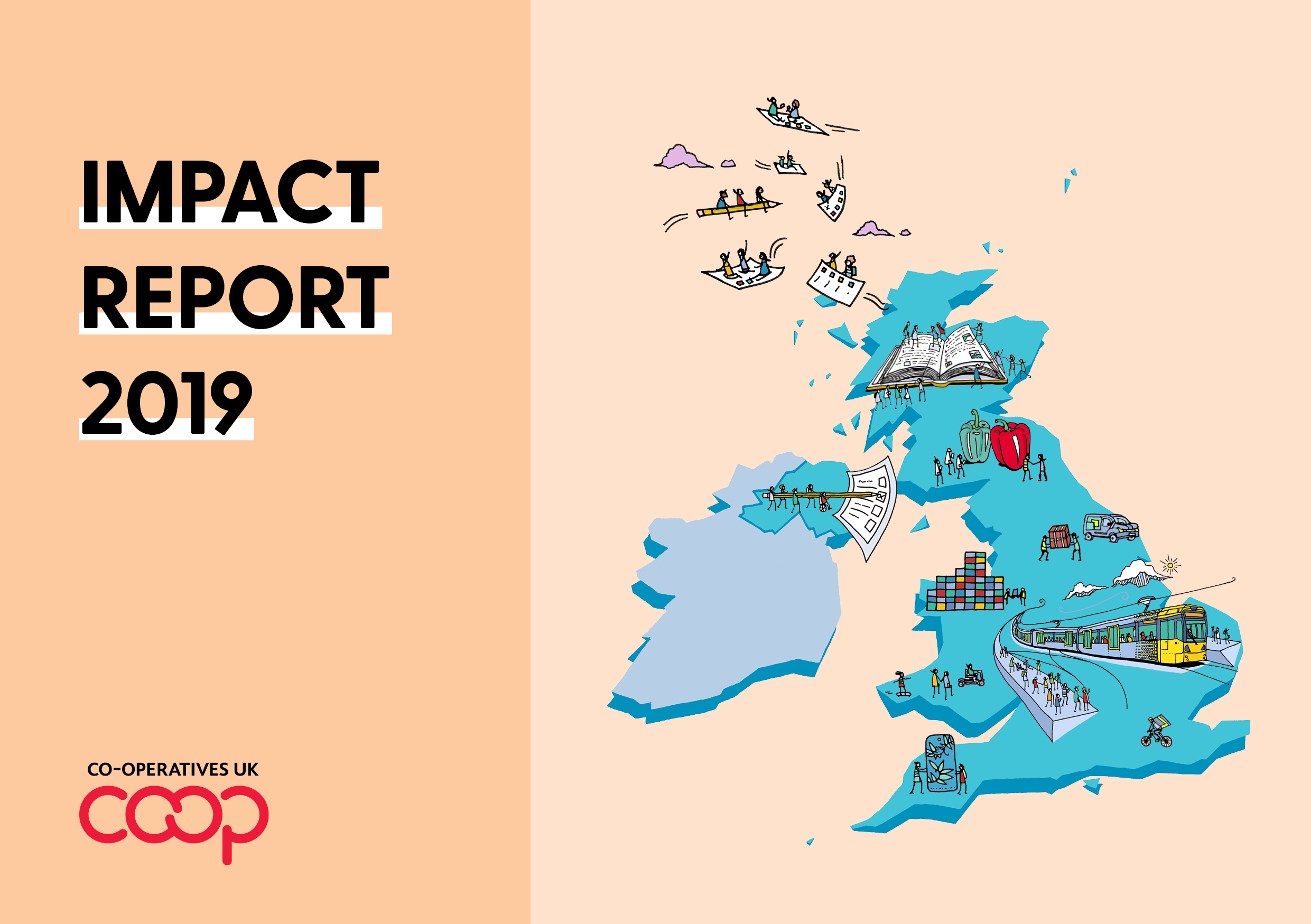 Cover of 2019 Impact Report