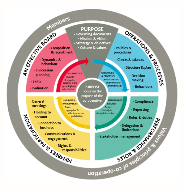 Governance wheel
