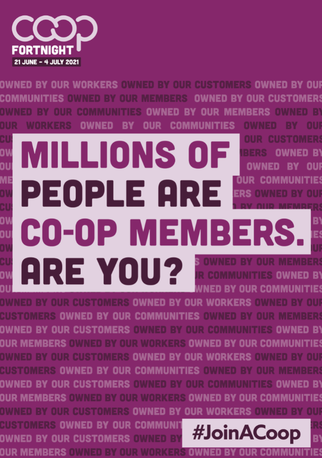 millions of people are members of co-ops - are you?