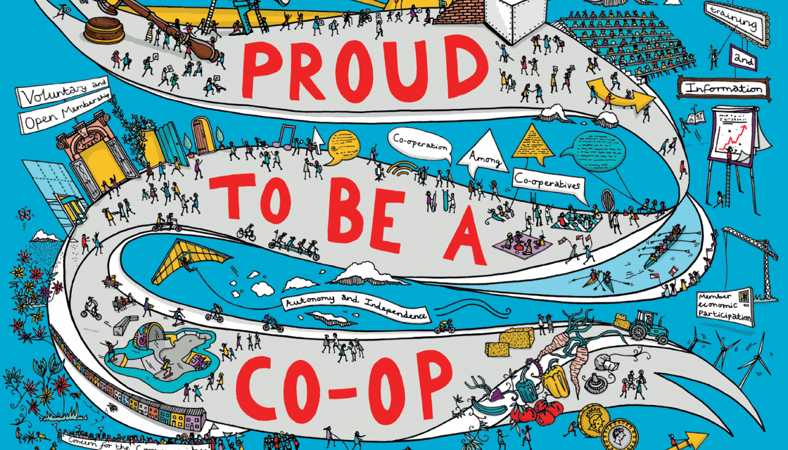 Illustration Proud to be a Co-op