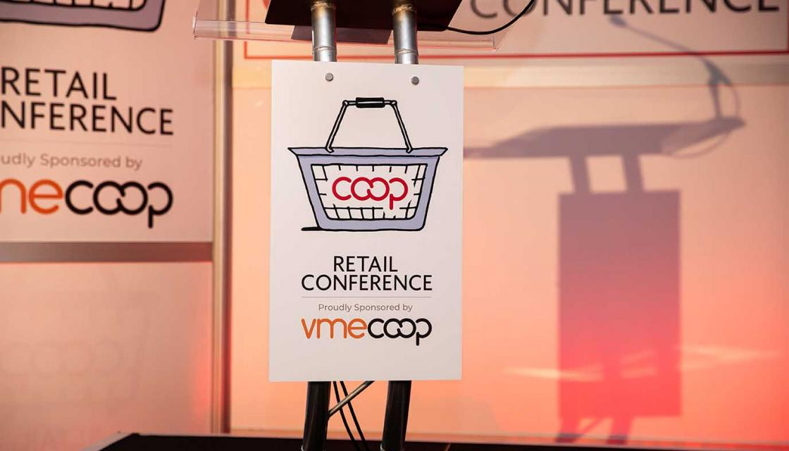 Co-op Retail Conference sponsor