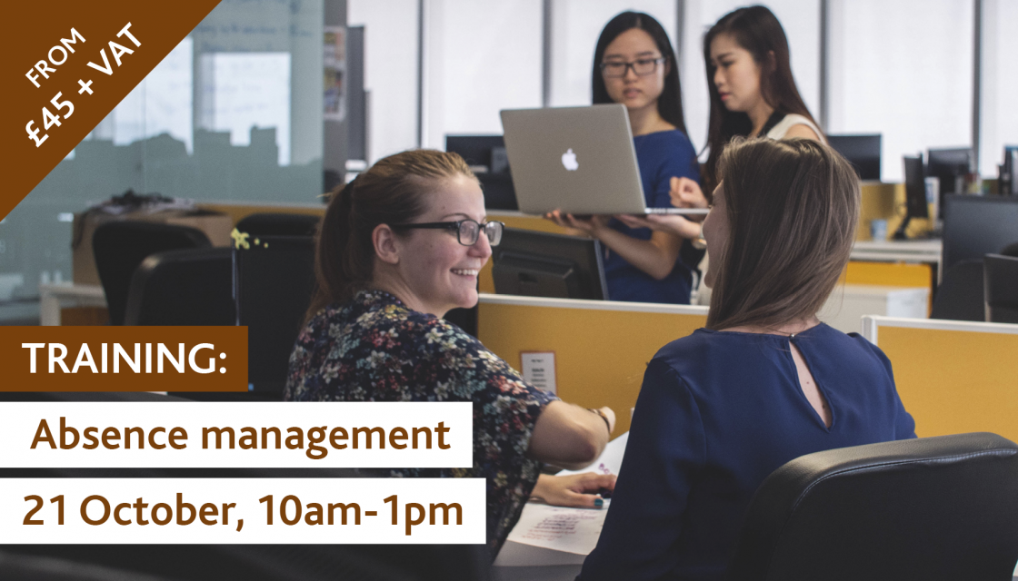 training absence management oct 2021