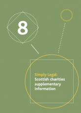 Simply Legal Scottish Charities title page