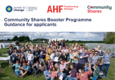 Community Shares Booster Programme Guidance for applicants cover
