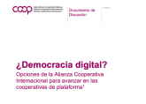 Digital Democracy paper cover Spanish