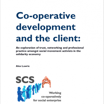 Co-operative development and the client cover