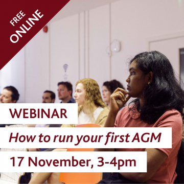 How to run your first AGM