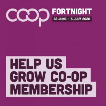 Co-op Fortnight Branding