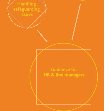 Handling safeguarding issues toolkit - cover
