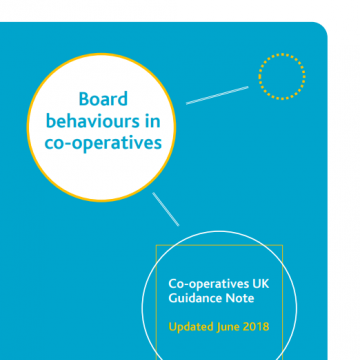 Board behaviours cover
