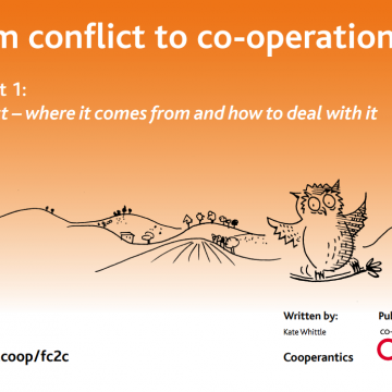 Conflict to co-operation – booklet 1