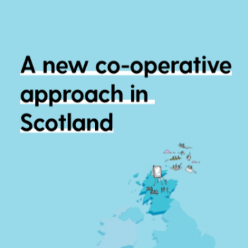 A new co-operative approach in Scotland